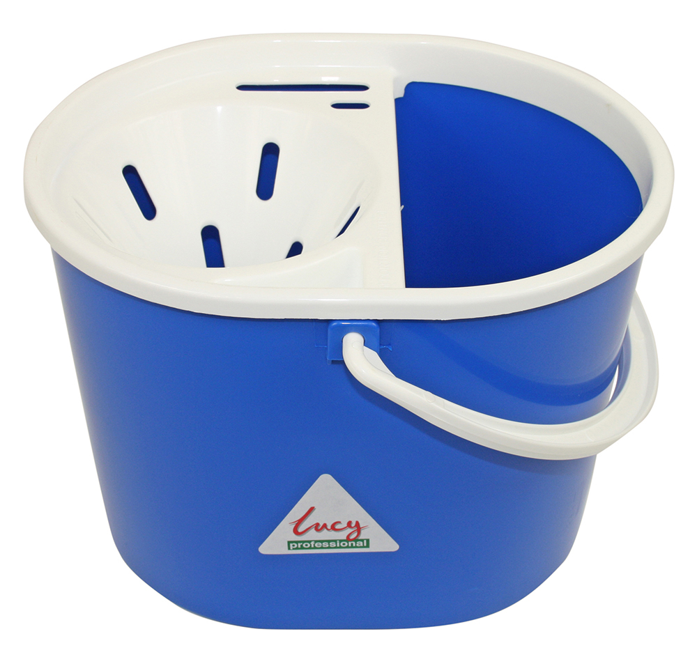 Bucket Mop Lucy Do-It-All 15Lt With Wringer 1405292 (Blue)