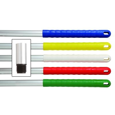 """Screw Mop Handle - Green 49"""" Aluminium (KL29593) 88/000024"""