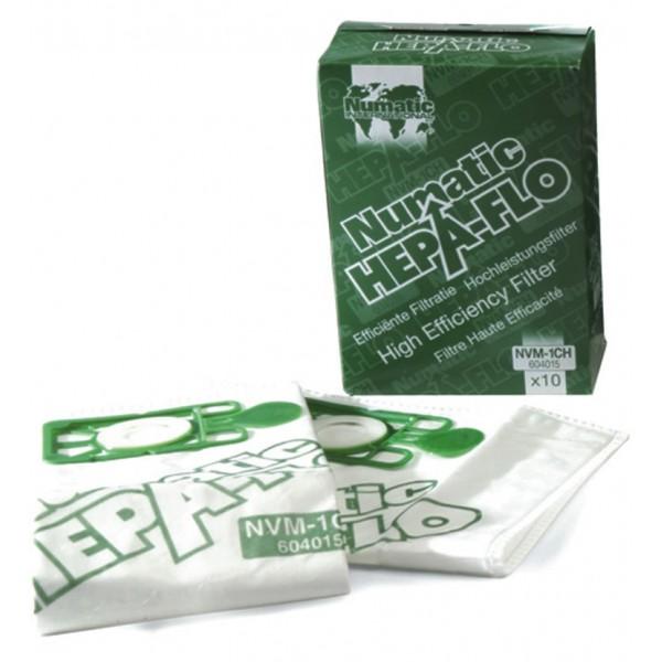 Hepaflo Filter Bags for NVR200/225 Henry Hoovers