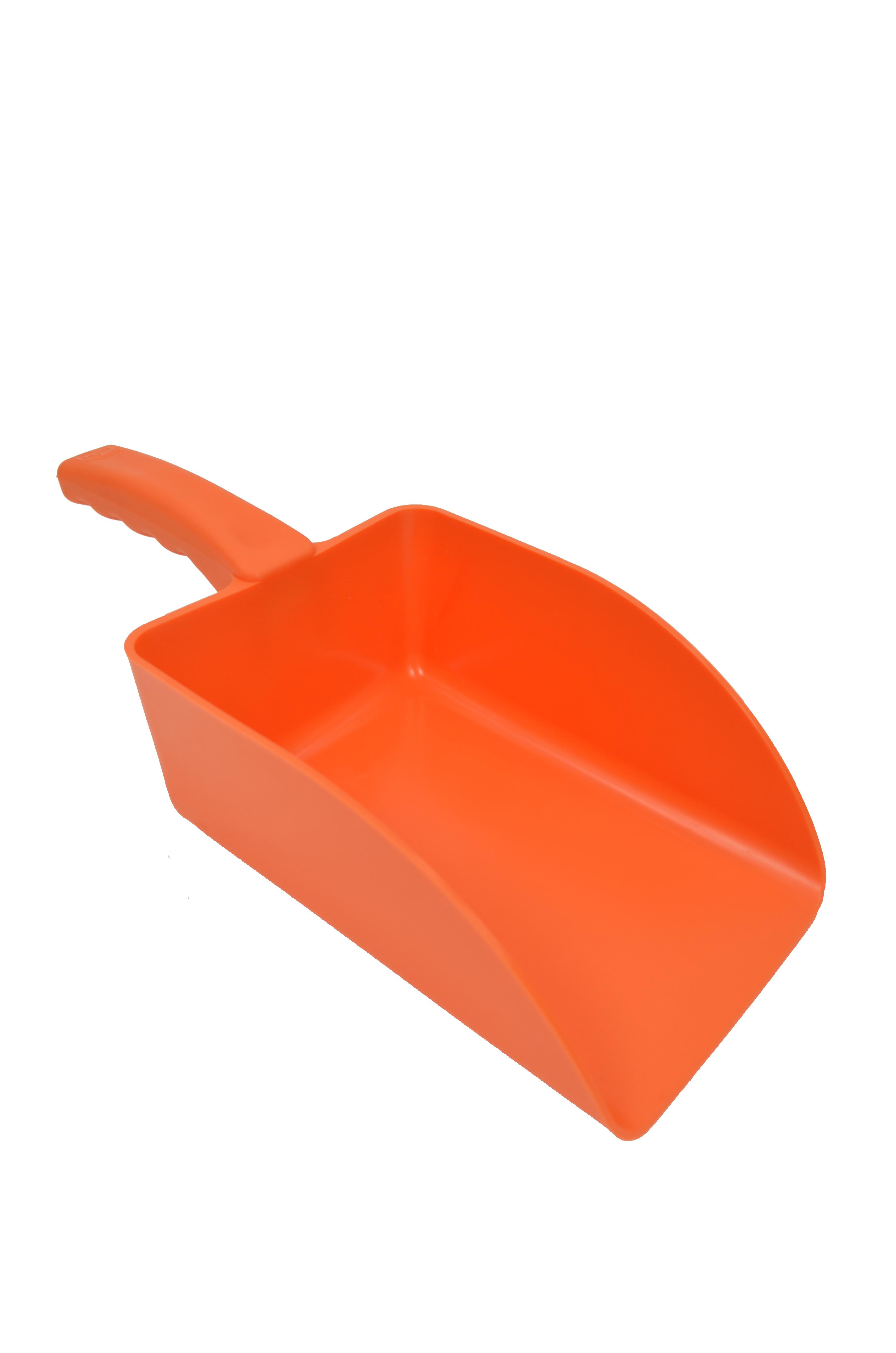Large Hand Scoop - 3Kg Orange Plastic 039/052245