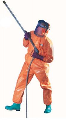 Orange A80 CET Suit - Extra Large