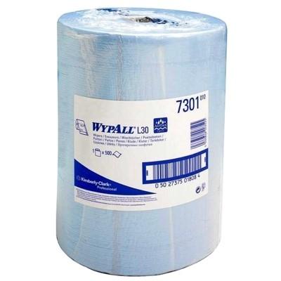 KC 7301 - 500 Sheet 2Ply Blue Wiper Roll -  36/137730