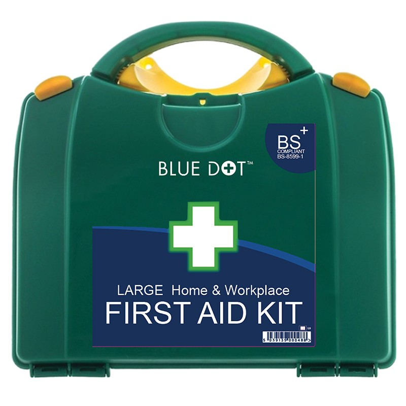 Small Plastic First Aid Kit With Contents Cat: 34/150139